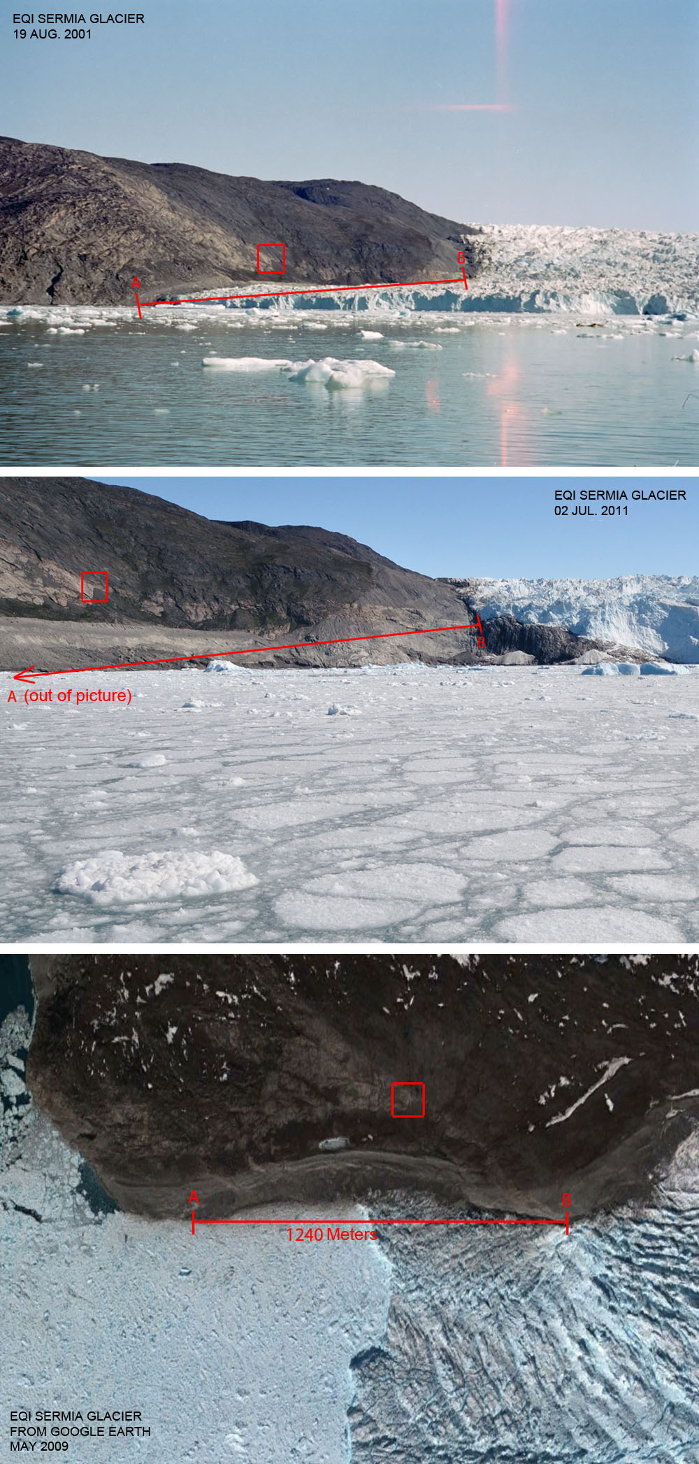 Greenland Is Melting Tour