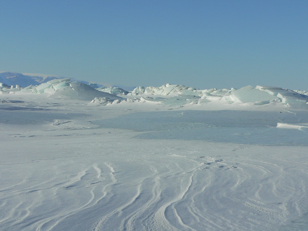 The Dogsledge Expedition To Thule Greenland Departs From