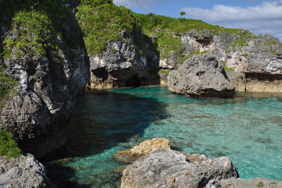Snorkeling To Niue In South Pacific To The Limu Pools