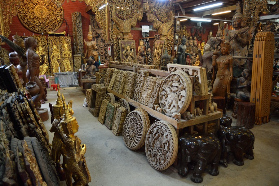 Excursion to mingun and arts crafts of mandalay and myanmar for Furniture yangon