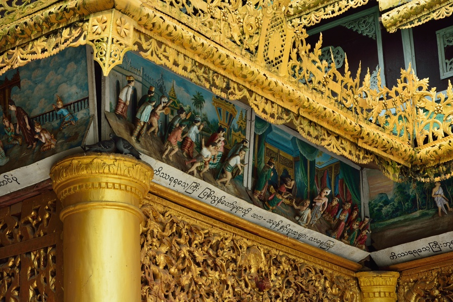 Tour to yangoon in myanmar discovering shwedagon pagoda