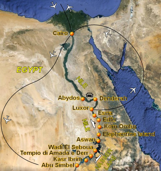 Cruise In Egypt To Lake Nasser And Nile River Egypt Pictures And - Nile river on world map