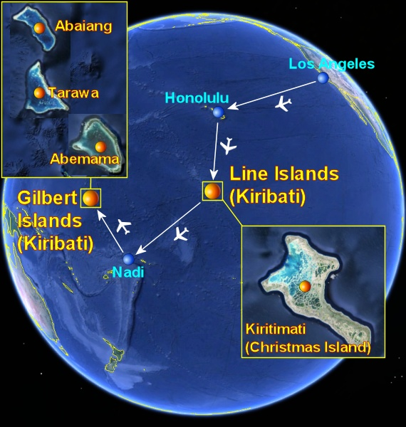 Places To Visit In Christmas Island: Kiribati: A Place For Real Travelers Looking For Authentic
