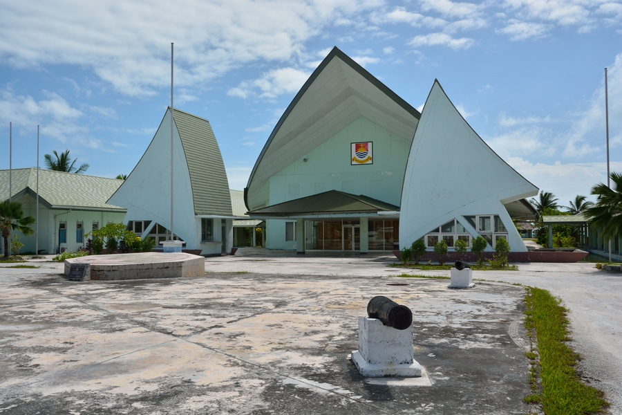 The Relics Of World War Ii In Tarawa And The City Of Betio