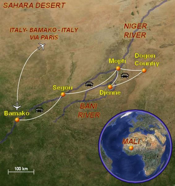 Mali travel guide and travel tips Bamako Mopti Segou Djenne and