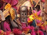 Dogon dance mask in Mali