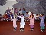 Eskimo dances, Barrow, Alaska, USA