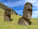 Sculptures on Easter Island