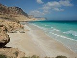 Sea in Socotra